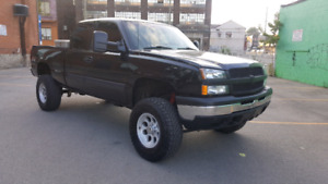 2003 CHEVY SILVERADO LIFTED EXCELLENT TRUCK CALL