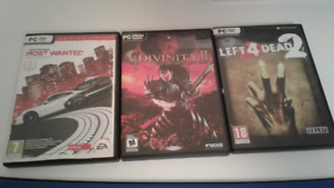 Most wanted,divinity 2,left 4 dead 2