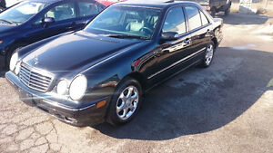 2002 Mercedes-Benz E-320 4matic CLEAN !!!!