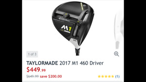 Brand new Taylormade M1 driver
