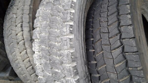 one of each Michelin XDS2 and Continental's HSR/ HDR 225/70R19.5