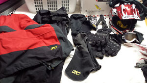Klim sled gear and accessories