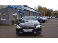 BMW 520 2.0 520d SE (blue) 2014