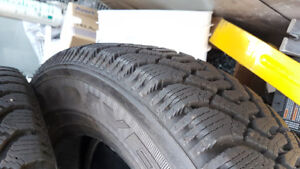 4 Goodyear Nordic Winter tires 205/70R15 VIRTUALLY NEW