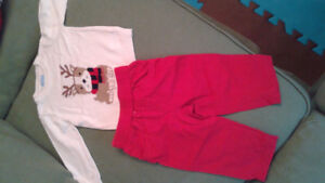 children's place 9-12 month christmas outfit