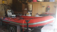 Zodiac Inflatable boat with 30 hp Yamaha motor FURTHER REDUCTION