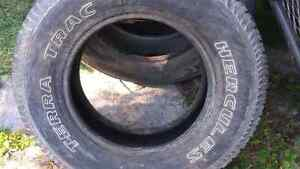Set of 4 Hercules Terra Track Tires