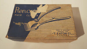 Hair Clipper with Original Box Renown England