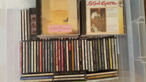 Jazz, classical and mixed CDs for sale