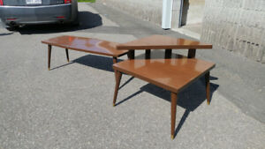Set de Tables Basse Art-Deco