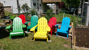 Adirondack chairs for sale $125.00 each