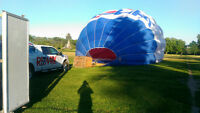Looking For Hot Air Balloon Crew