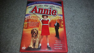 ANNIE ON DVD VERY RARE ONLY 5$ IN MINT CONDITION!!!!!!!!!!!!!!!!