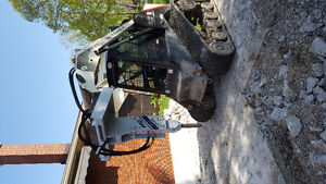 Excavator, skid steer, and zoom boom  with operator for hire