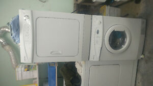 Almost new condo size frontal Samsung washer and dryer