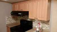 Markham and Elson-Newly renovated 1,200 sq.ft two bedroom+den