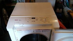 Bosch washer and electric dryer