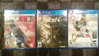 Fallout 4, NBA 2k15, NHL 15, MUST GO - QUICK - CHEAP