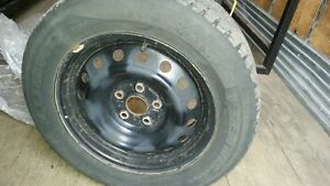 215/60R16 USED KUMHO WINTER TIRES ON RIMS Oakville / Halton Region Toronto (GTA) image 1