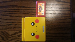 Pikachu Gameboy advanced sp