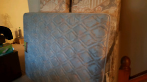 Free queen mattress and box springs
