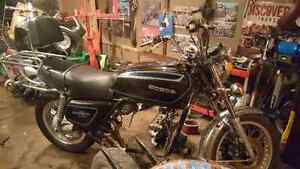 1977 gl1000 goldwing rolling chassis
