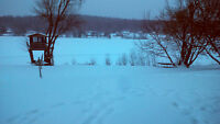 Winter Cottage for Rent - Lac Cayamant, Quebec