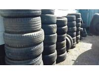 OVER 75 ODD TYRES 2 CLEAR 13 14 15 16 17 18 inch.CARS 4X4S VANS..£10 -£15 EACH