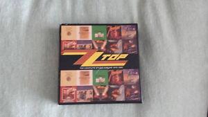 ZZ TOP STUDIO ALBUMS CD BOX SET ! BRAND NEW !