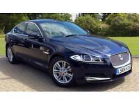 2014 Jaguar XF 2.2d (163) Luxury Auto with Sa Automatic Diesel Saloon