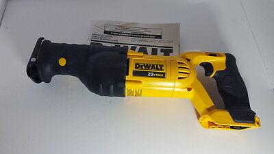 DeWALT DCS380 20V 20 Volt MAX Li-Ion Cordless Reciprocating Saw Sawzall New Tool