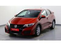2015 Honda Civic 1.4 i-VTEC S Petrol red Manual