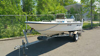 1996 Seahunt 16ft Center Console!