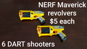 NERF and other blasters types