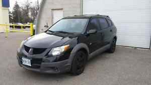 2003 pontiac vibe w/ sunroof and winter tires