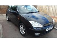 2003 Ford Focus 1.6 special edition ebony leather alloys