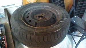 4 Michelin Winter Tires with rims for sale