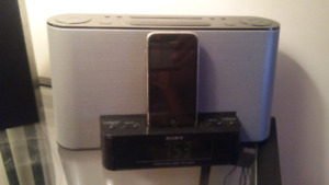 Iphone 3s with Sony docking station