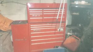 Snap-on Tool boxs with assorted tools