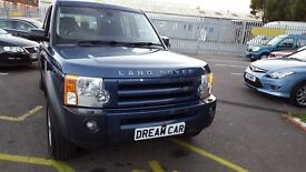 Land Rover Discovery 2.7 TDV6 XS 7 SEAT (blue) 2008