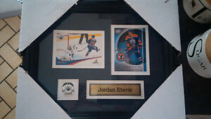 Framed Hockey Cards with pin & name - Great Christmas Gift! Kitchener / Waterloo Kitchener Area image 5