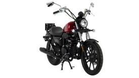 Lexmoto Michigan 125cc Cruiser motorcycle-Low Seat Height-2021 euro In Stock Now
