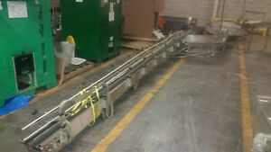 Stainless incline belt conveyor London Ontario image 2
