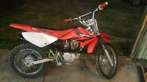 2004 CRF 100 WITH OWNERSHIP
