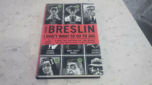 I Don't Want To Go To Jail, Jimmy Breslin, 2001 Kitchener / Waterloo Kitchener Area image 1