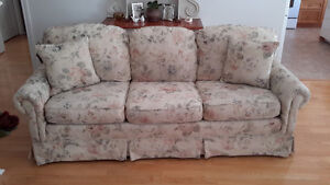 Chesterfield and Matching Chair
