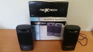 Nexxtech speakers / système de son pour ordinateur