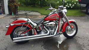CVO FATBOY SCREAMIN' EAGLE FLSTFSE SUPER LOW MILES