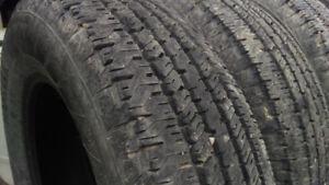 "4 M+S 17"" Hancook Tires"