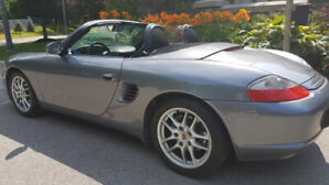 2004 Porsche Boxster 5 speed manual